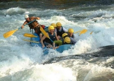 white-water rafting